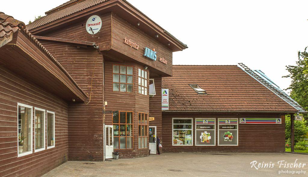 Cafe Jumis in Skrunda