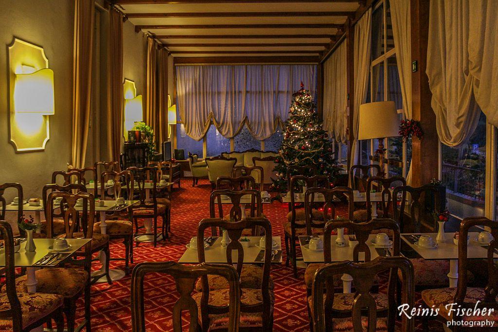 Dinning/Restaurant area at Villa Carlota in Florence