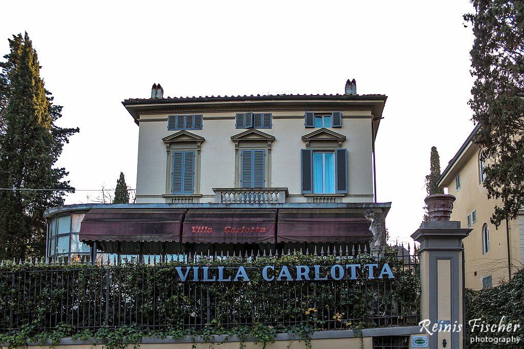 Villa Carlota hotel in Florence, Italy
