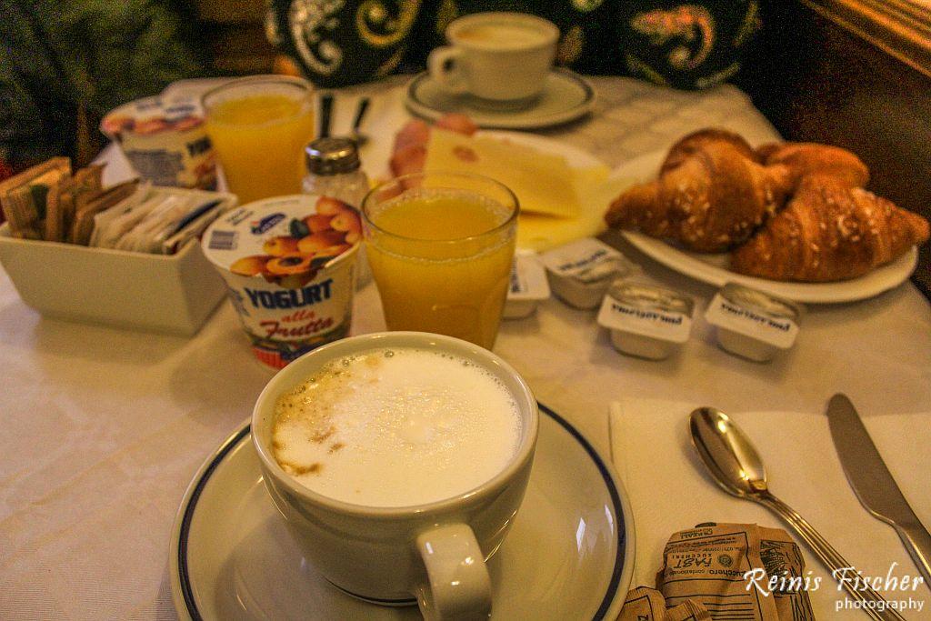 Breakfasts at Hotel Guerrini