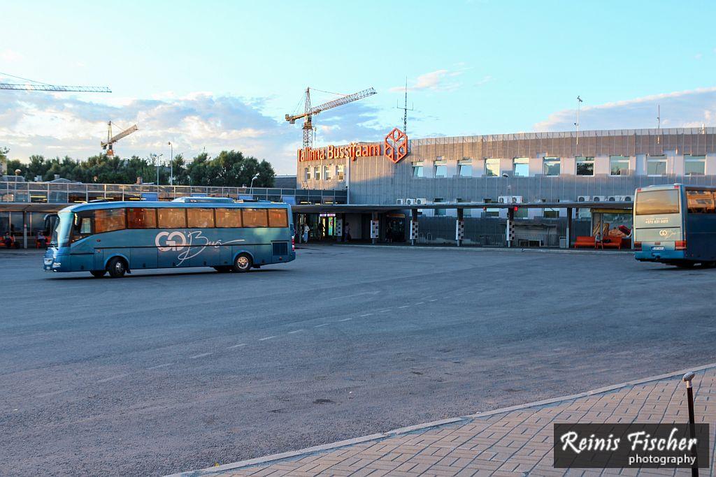 Tallinn Bus Station in Summer 2015