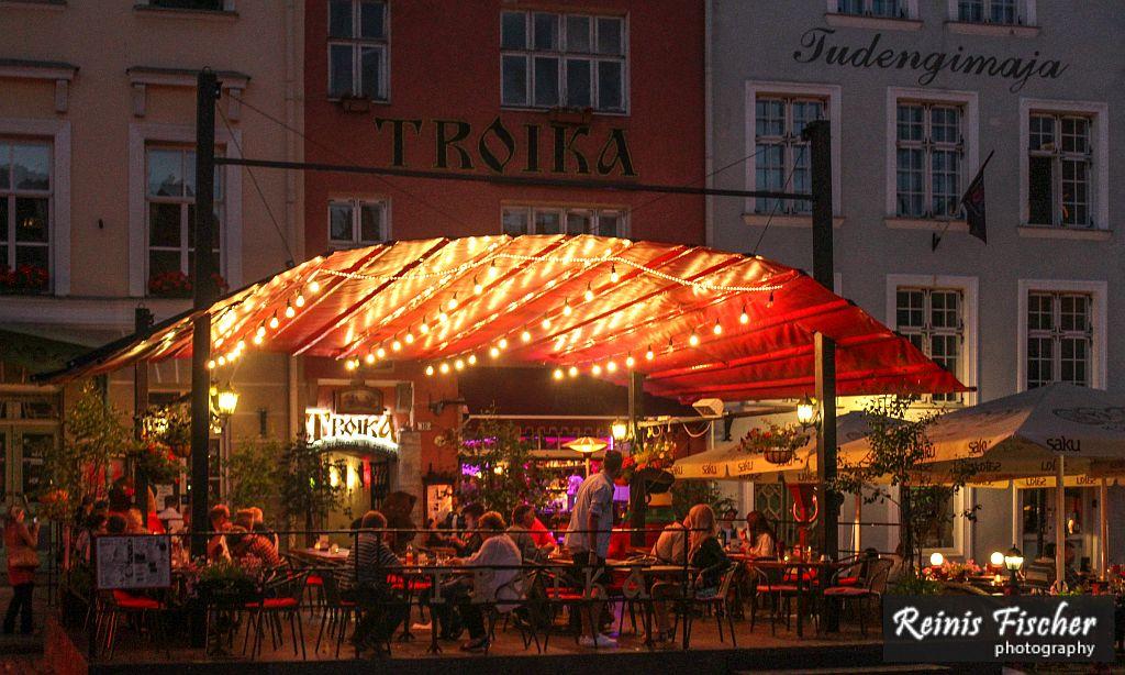 Russian tavern Troika in the heart of Tallinn