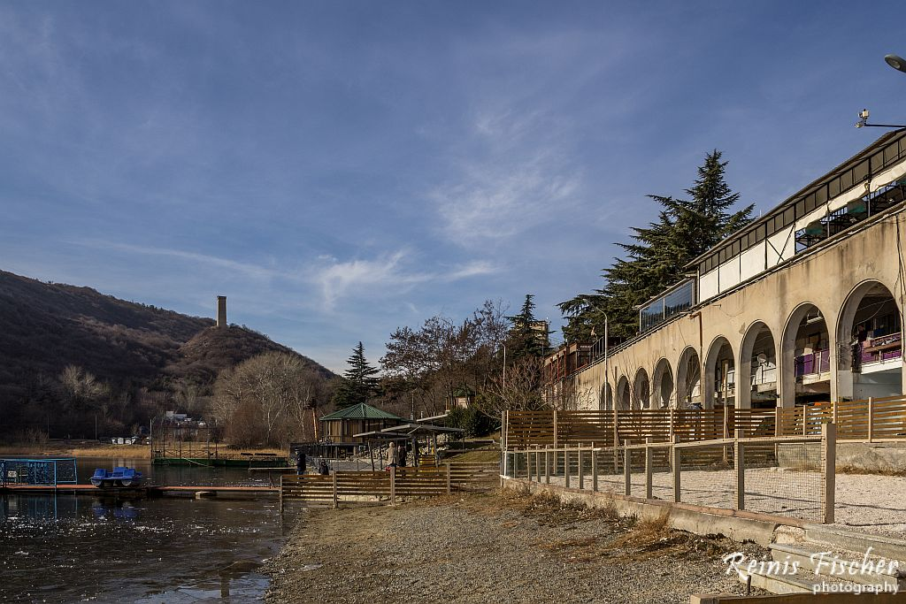 Recreational area near Turtle lake in Tbilisi
