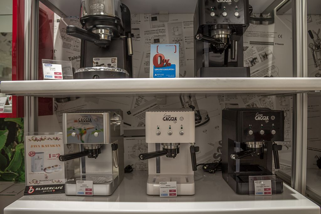 Coffee makers for sale at Dom Kofe