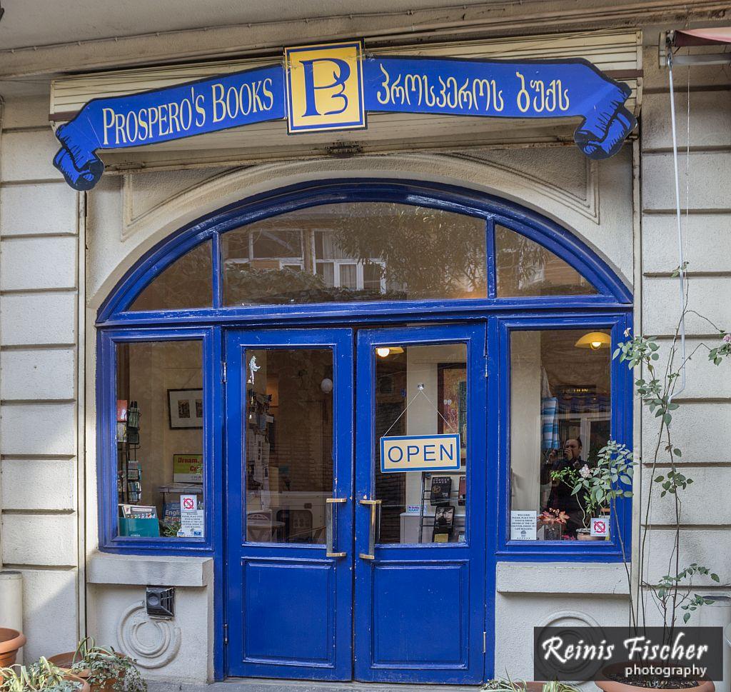 Prospero's Books in Tbilisi