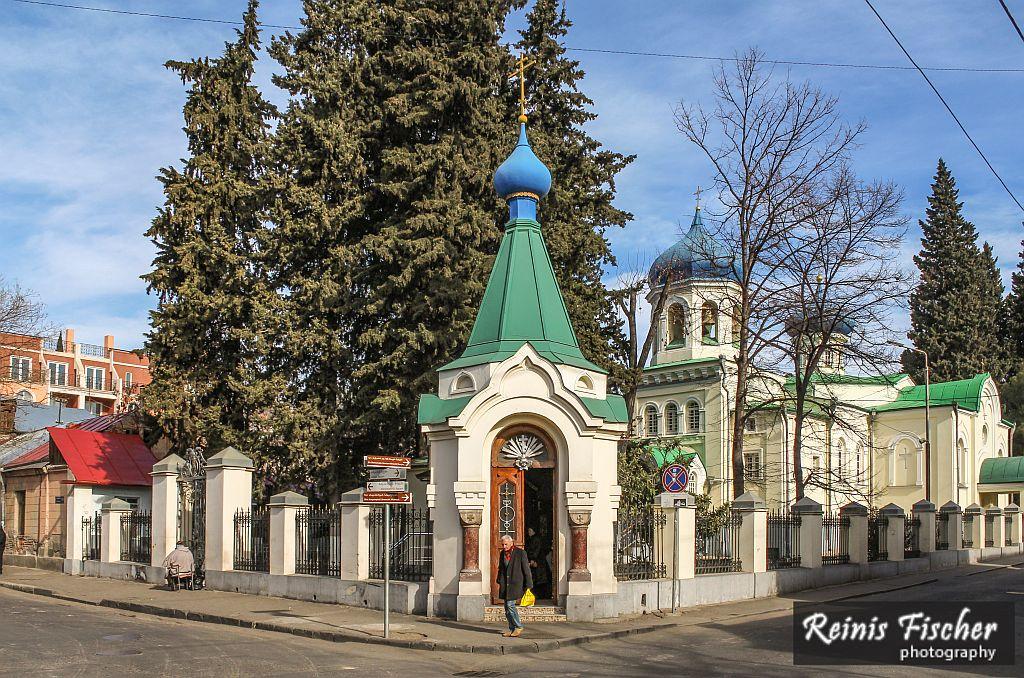 Alexander Nevsky Russian Orthodox Church in Tbilisi