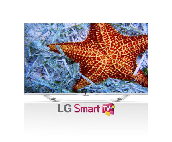 LG Electronics 55LA7400 55-Inch Cinema Screen Cinema 3D 1080p 240Hz LED-LCD HDTV with Smart TV and Four Pairs of 3D Glasses (2013 Model)