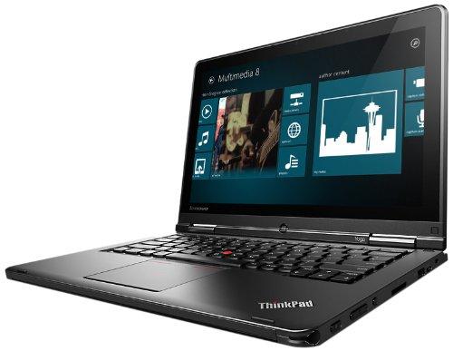 Lenovo ThinkPad Yoga 20CD00B1US 12.5-Inch Convertible 2 in 1 Touchscreen Ultrabook (2.1 GHz Intel Core i7-4600 Processor, 8GB DDR3, 256GB SSD, Windows 8.1 Pro) Black