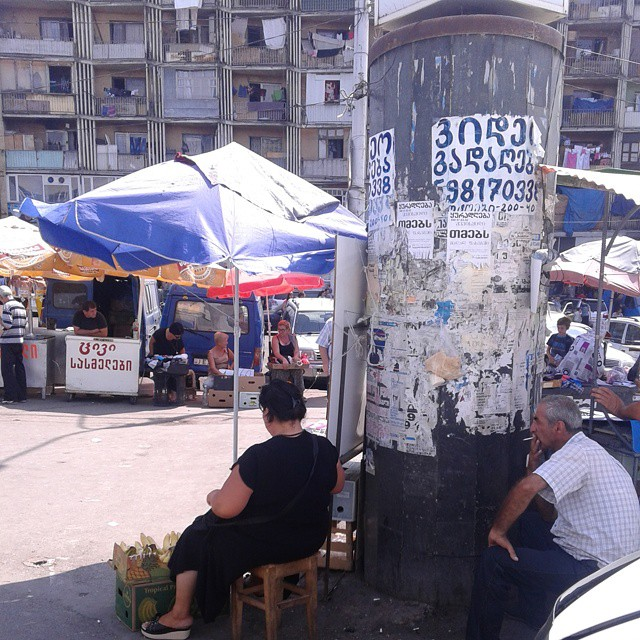Market near Tbilisi Railway Station