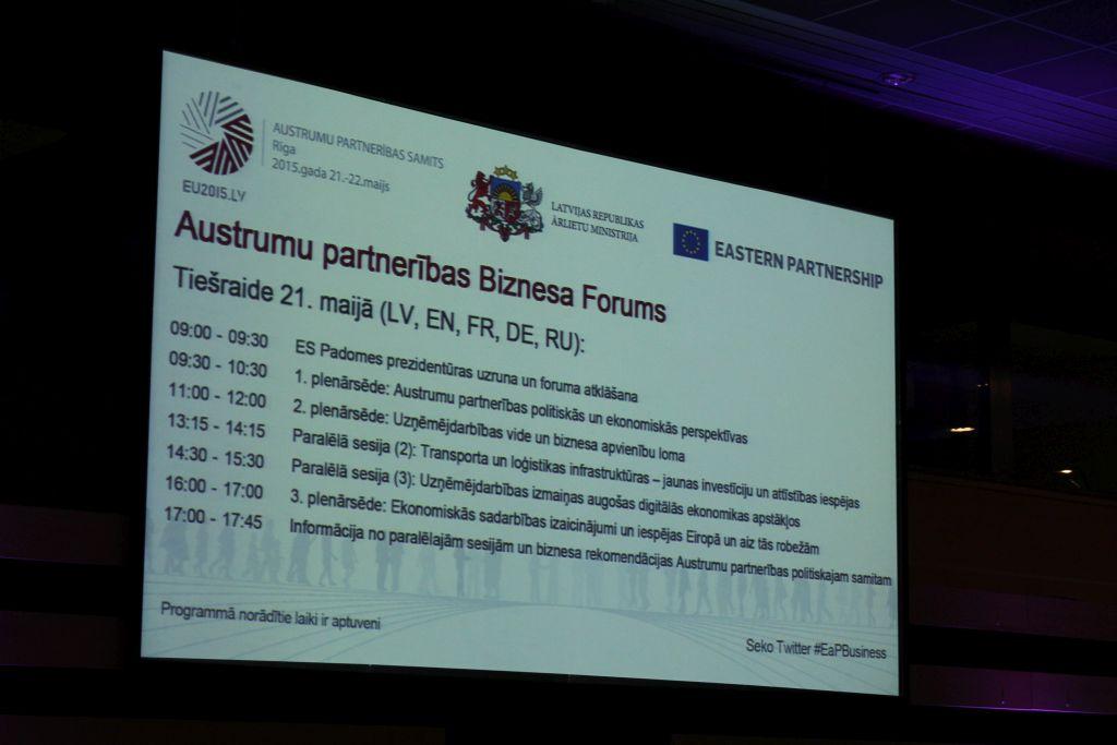 Agenda for Business forum