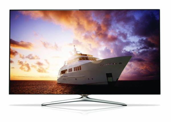 Samsung UN55F7100 55-Inch 1080p 240Hz 3D Ultra Slim Smart LED HDTV (2013 Model)