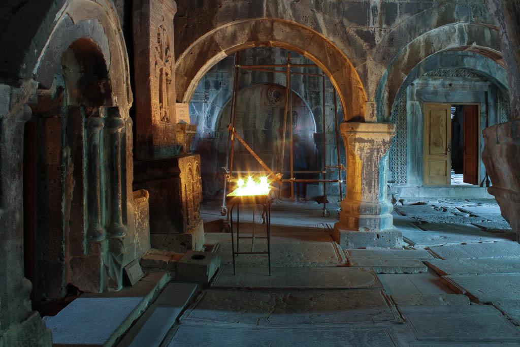Inside Sanahin monastery
