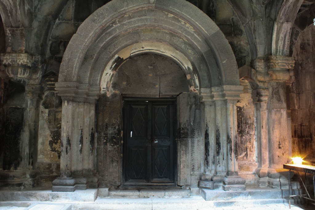 Doors at Sanahin monastery complex