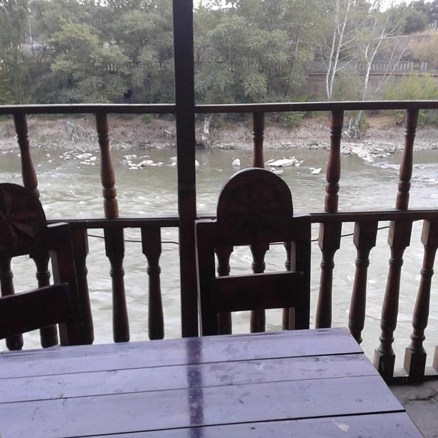 Balcony at Dzveli Kalaki