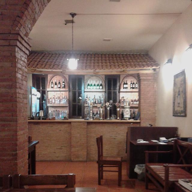 Bar counter at Zakhar Zakharich