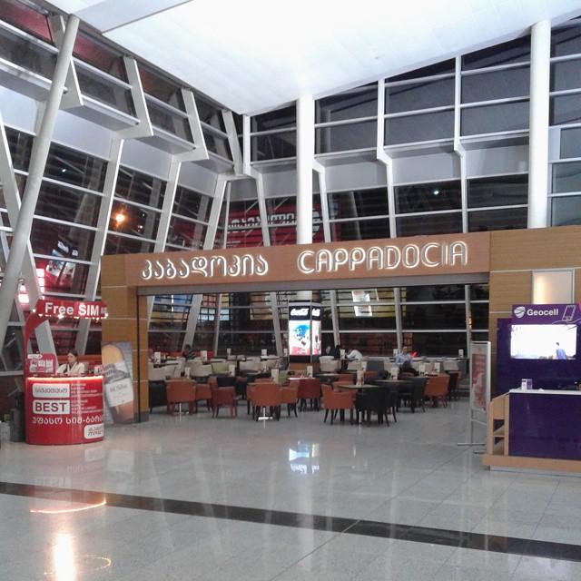 Coffee shop Capadocia at Tbilisi airport