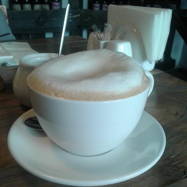 Mega Cappuccino at Josper's Bar