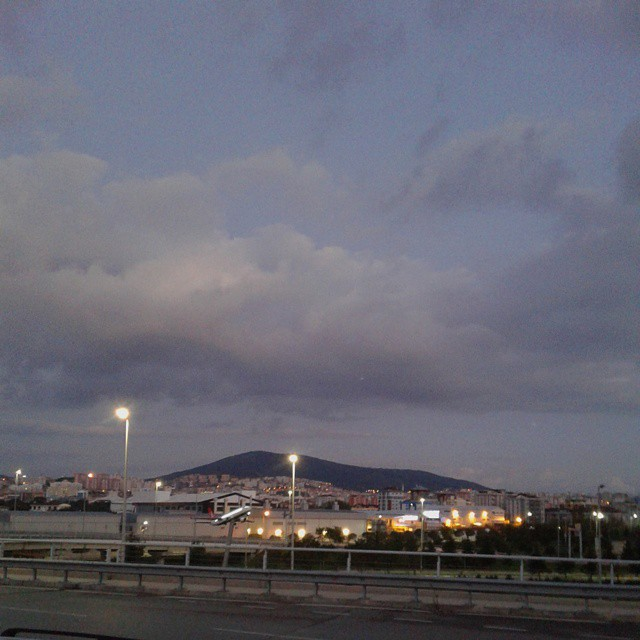 A view to Istanbul city from Sabiha Gocken Airport