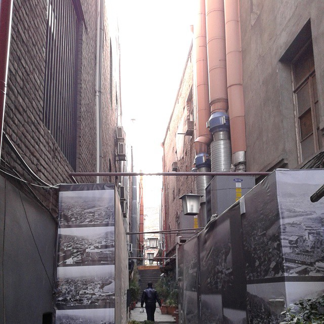 Corridor connecting with Sioni street