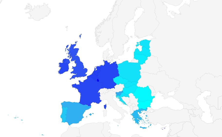Minimum wage in European Union 2015
