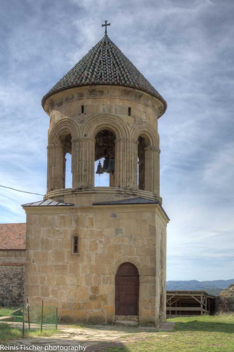 Bell tower at Gelati monastery