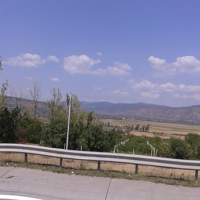 View to Georgian Countryside
