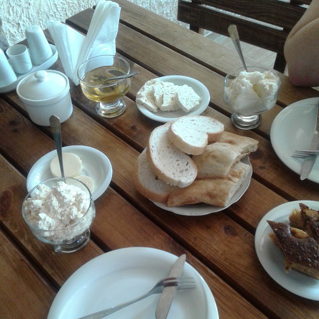Breakfast at Villa Likani