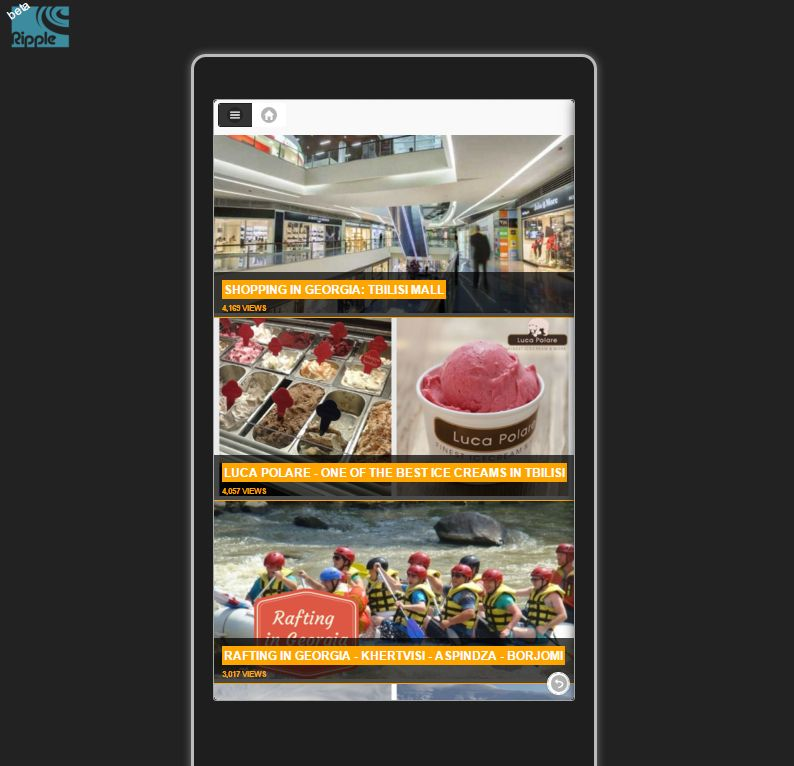 DrupalGap app in Ripple Emulator