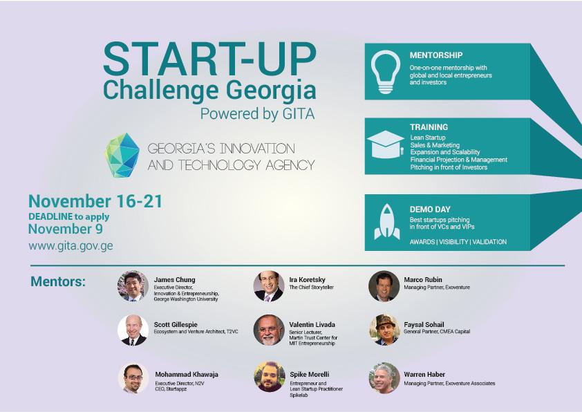 Start-up challenge Georgia