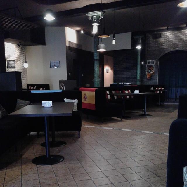 Inside interior at Shengen Restaurant