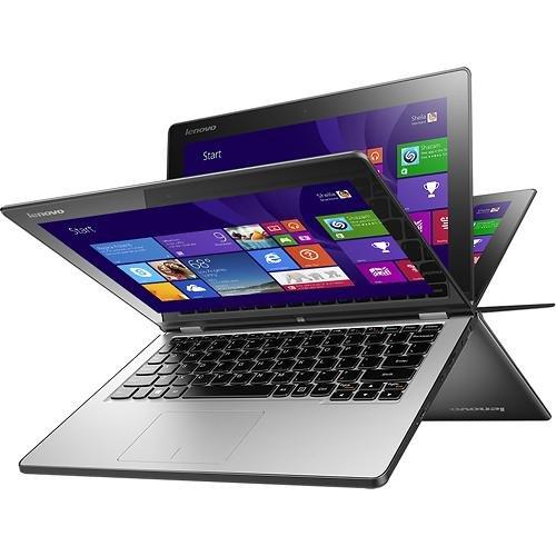 "Lenovo Yoga 2 11.6"" TouchScreen 2-in-1 Laptop PC - Intel Pentium N3520 / 4GB DDR3L / 500GB HD / HD Webcam / WLAN 802.11b/g/n / Bluetooth 4.0 / Windows 8.1 64-bit"