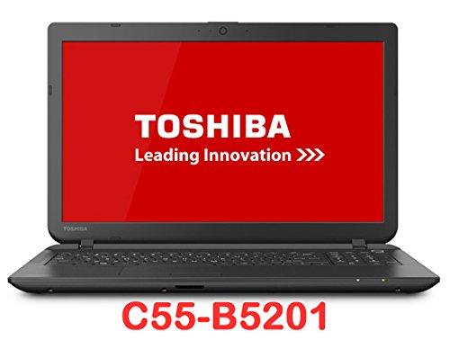 "Toshiba Satellite C55-B5201 15.6"" Laptop / Intel Celeron Processor N2830 / 4GB RAM / 500GB Hard Drive / DVD±RW/CD-RW drive / Windows 8.1 /Jet Black"