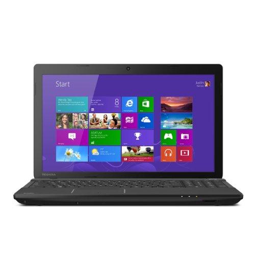"""Toshiba Satellite C55-A5190 15.6"""" Laptop Computer - Satin Black in Trax Horizon"""
