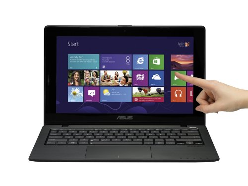 ASUS X200CA-DB01T Touchscreen Notebook 12-Inch Intel Celeron 1007U (1.5GHz, 2GB Memory 320GB HDD Intel HD Graphics, Windows 8 64-Bit) (Black) (OLD VERSION)