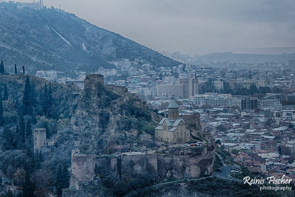 Day 65/365 Narikala Fortress in Tbilisi