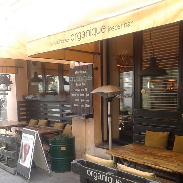 Josper's bar outdoor terrace