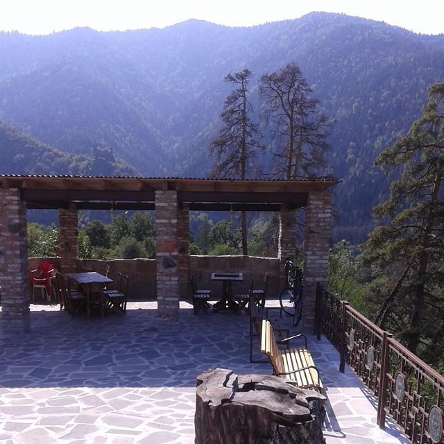 Outdoor Terrace at Villa Likani