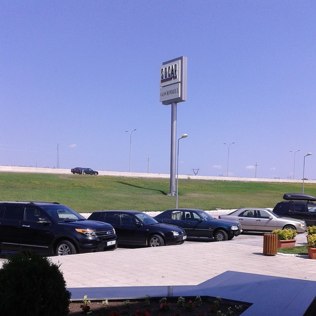 Parking lot near Goodwill