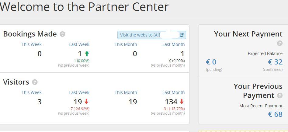 The new Booking.com partner center
