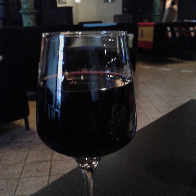Glass of a Red Wine