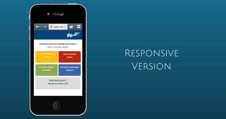 Responsive version sales.wilsonlearning.lv