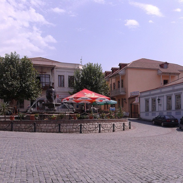 Sighnaghi Town Square