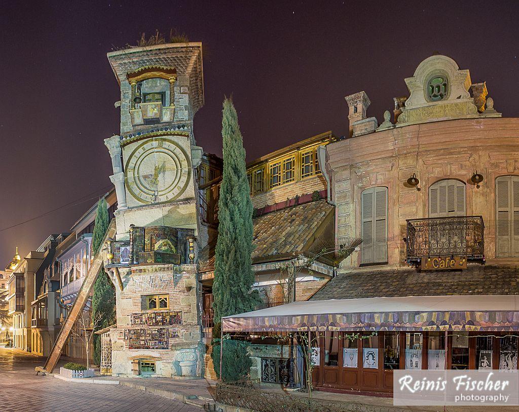 Gabriadze theater building in Tbilisi