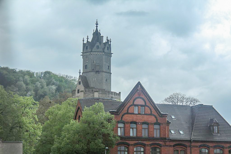 Some Castle Tower in city of Andernach