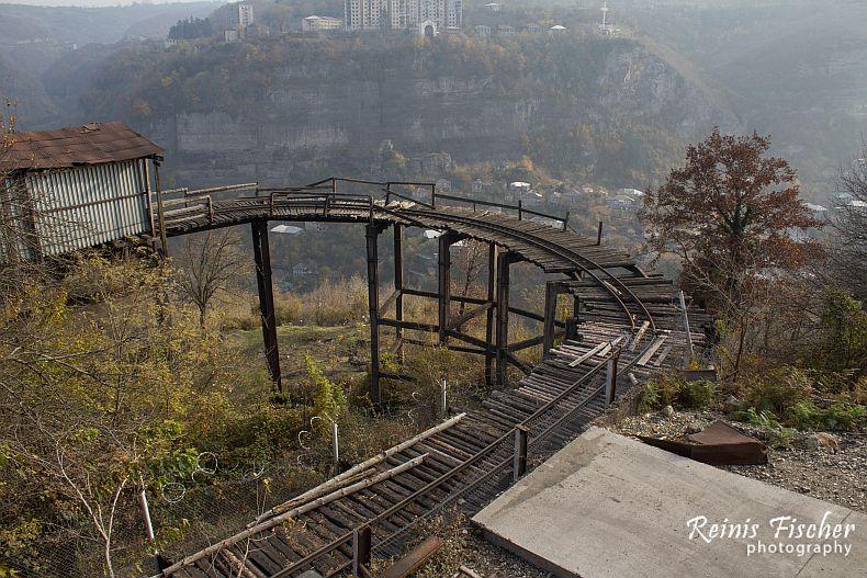 Mine railway in Chiatura