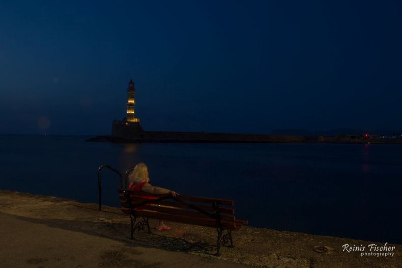 The girl and the lighthouse