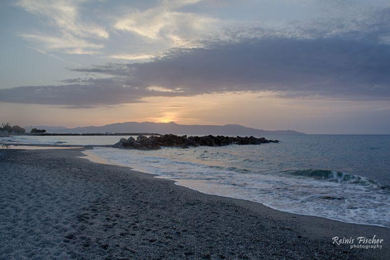 Sunset at Agia Marina