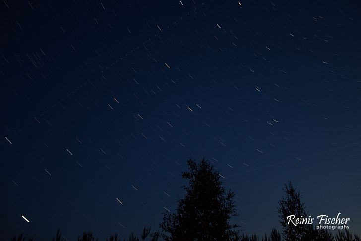 Second attempt of star trail photography