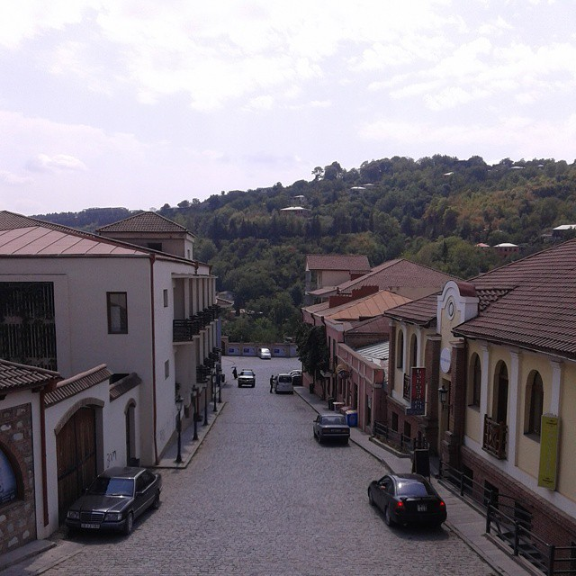 View from Sighnaghi tower