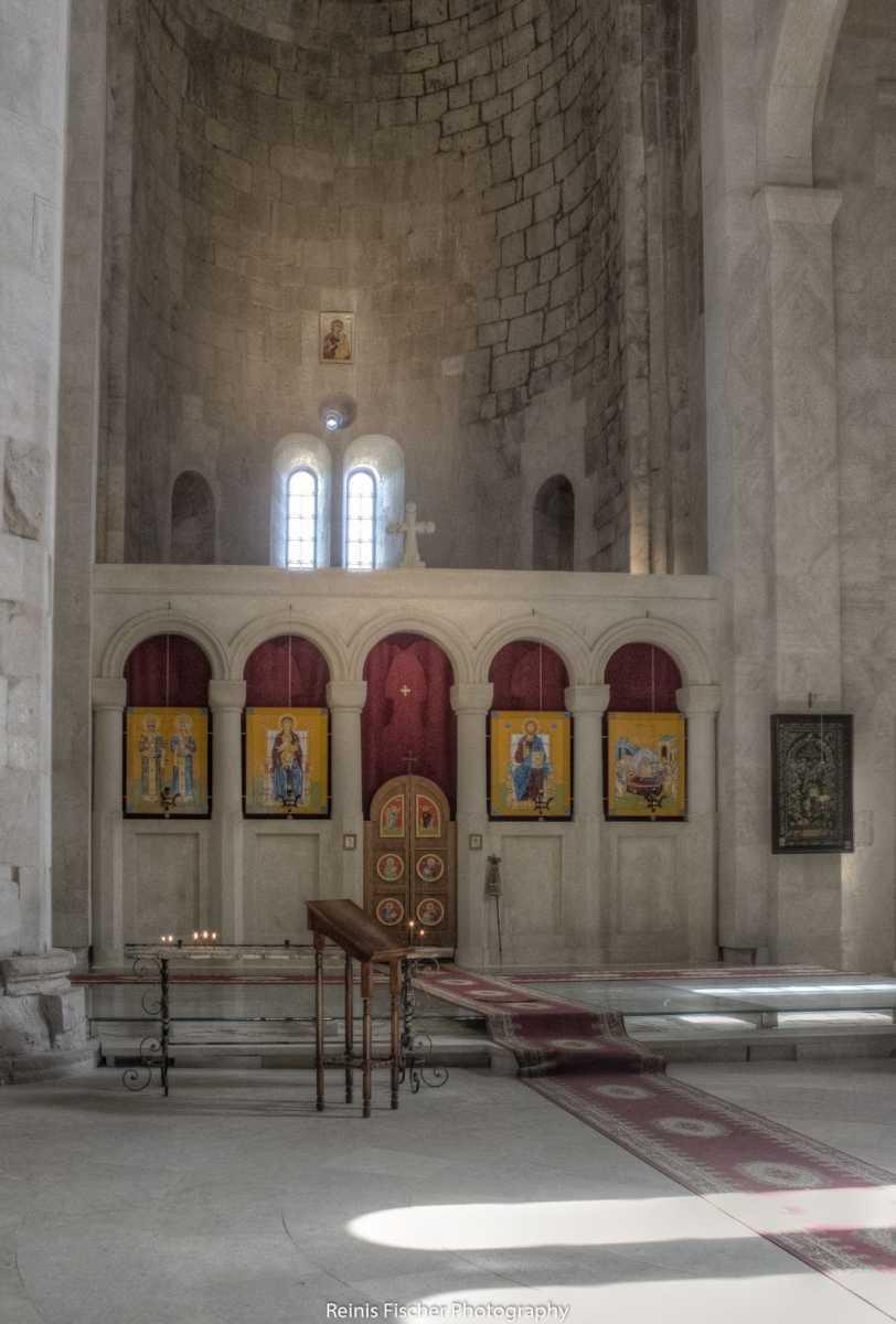 Altar inside Bagrati cathedral